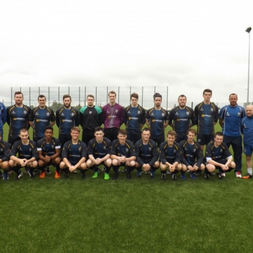CYFC RUN OUT FOR THEIR FIRST EVER SENIOR GAME
