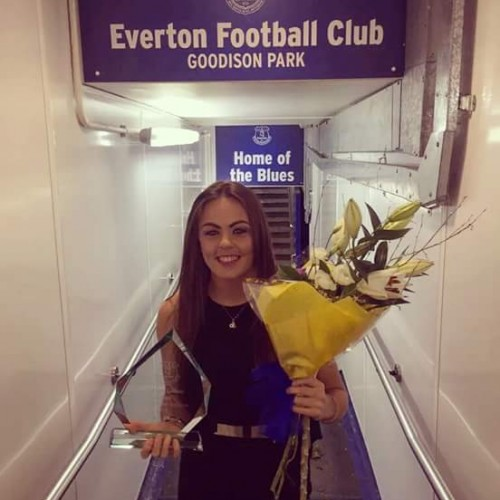 Everton Ladies Player of The Season : SIMONE MAGILL