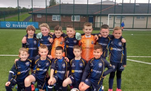 U10s Win Local Derby