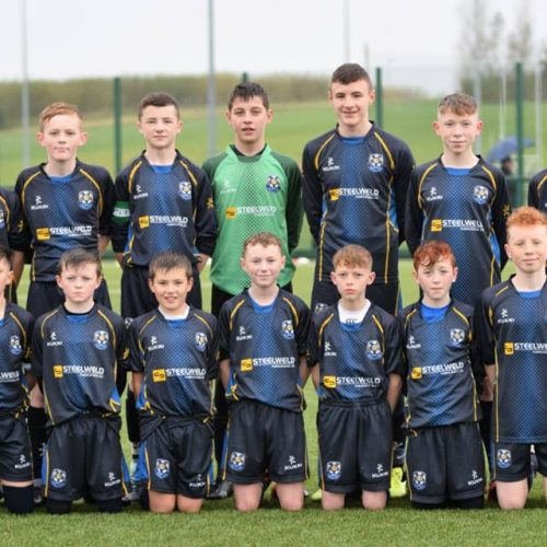 Under 14s March On In Cup