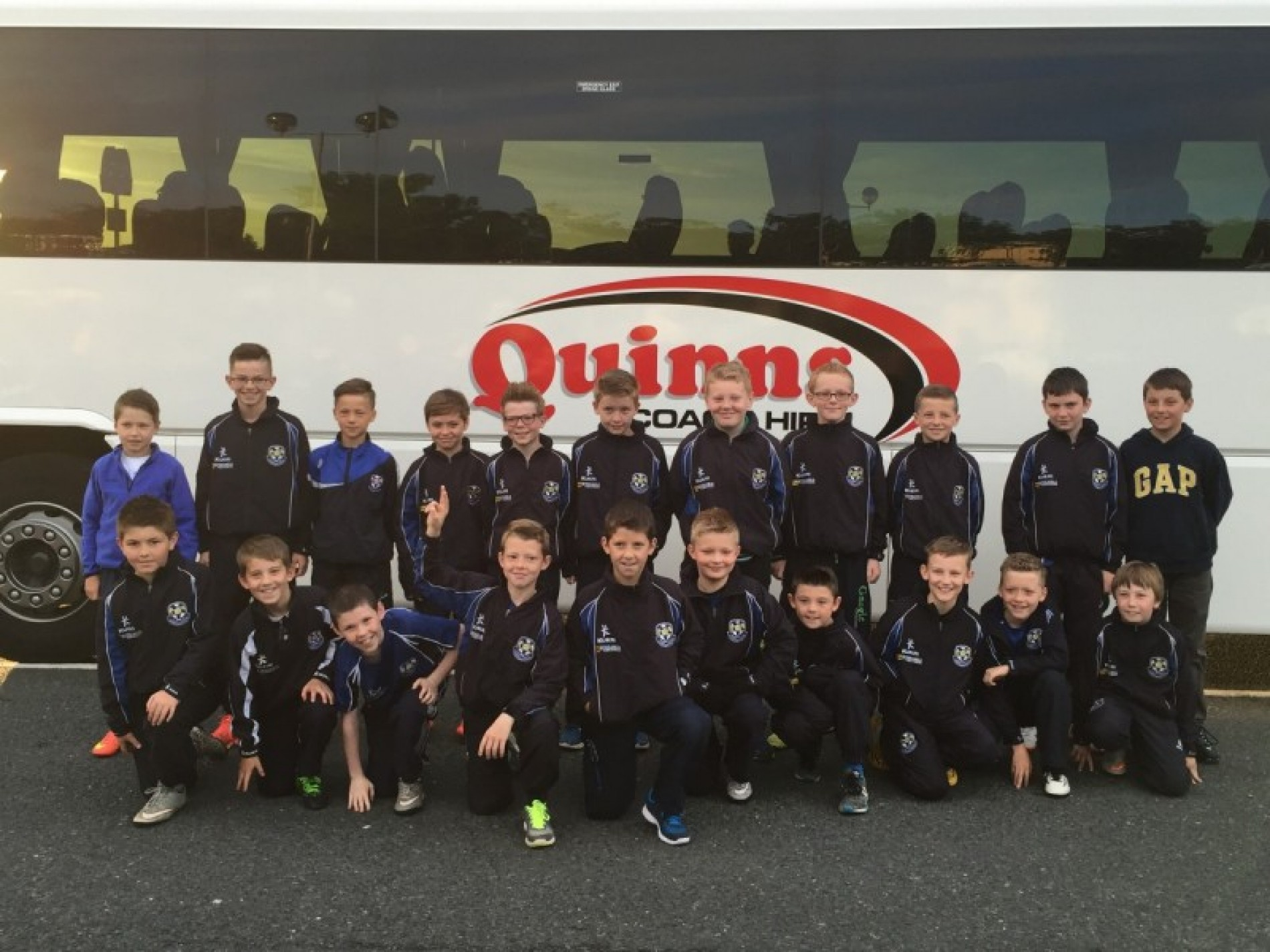 CYFC 11s TRAVEL TO THE GLASGOW RANGERS TRAINING GROUND