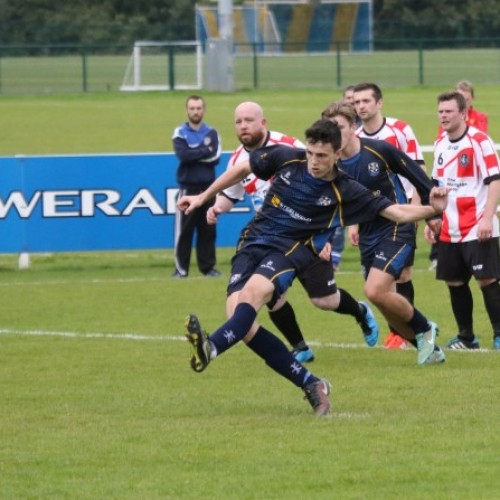 Leslie Scores 3 as CYFC Sink Ballyclare