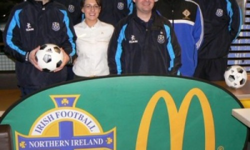 Cookstown Youth Coach Development Programme Starts Up For the Season Ahead With Financial Backing from McDonalds Cookstown