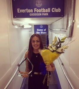 Simone Magill , Everton Ladies player of the year