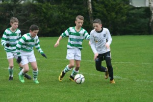 Action from CYFC 13s v Lurgan Celtic