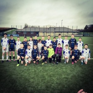 CYFC 12s and Sion Swifts before their cup game