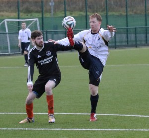 Ali Young who hit the net four times for CYFC Reserves against Newmills Res .