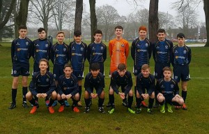 CYFC 15s before their clash with St Marys , 7.01.17