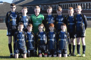 CYFC 13s before their game with Derry Colts 11.02.2017