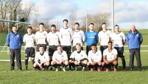 CYFC Reserves before their game against Sporting Lisburn Reserves.