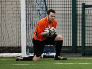 Luke Donaghy , reserves Man of The Match against Banbridge YCOB.