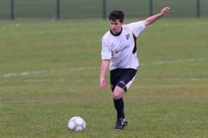 Stevie Arrell who scored 4 for the Reserves agaianst Sporting Lisburn