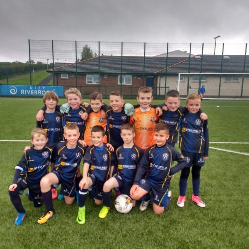 U10s Win Local Derby