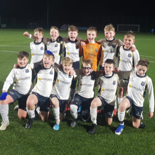 CYFC u11s Into Last 16 of NIBFA Plate