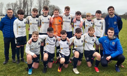 U12 SIZZLERS HELD WITH LAST DITCH GOALS