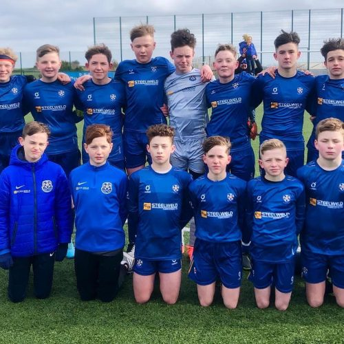 U14s Hit Ballymena For 7 In Horrible Conditions